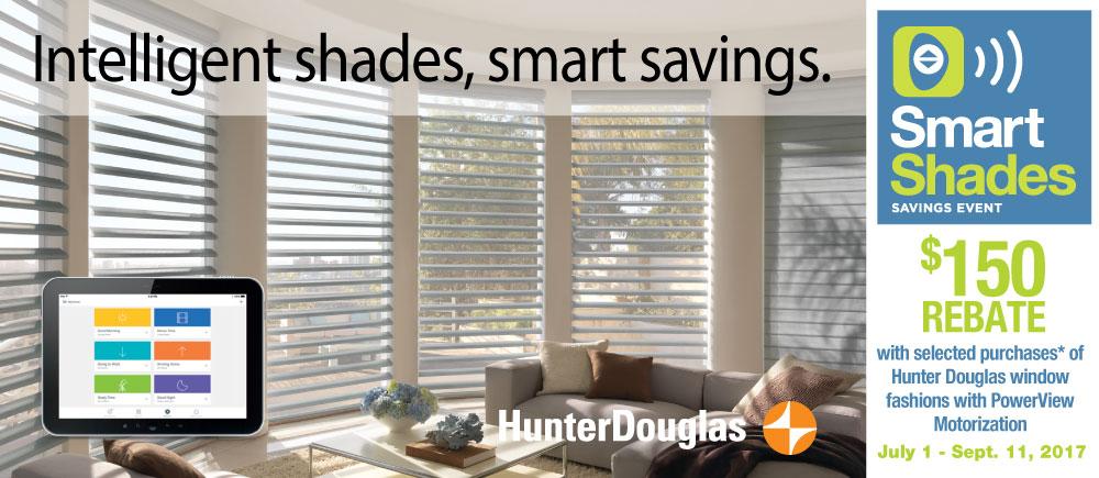 Hunter Douglas Smart Shades Promotion