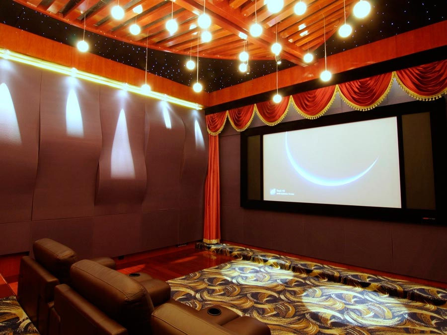 home theater design idea
