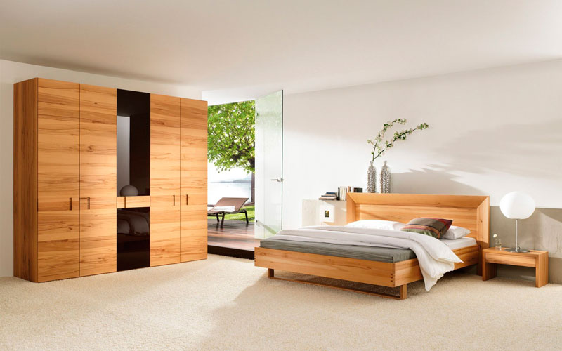 minimal style of master bedroom