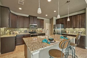 Preston Model Home Kitchen