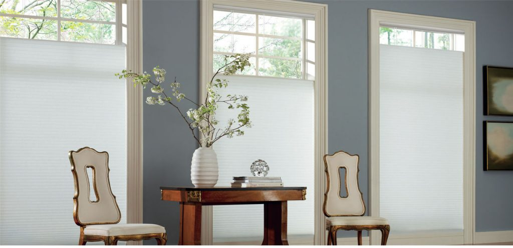 Hunter Douglas Duette® Architella® honeycomb shades