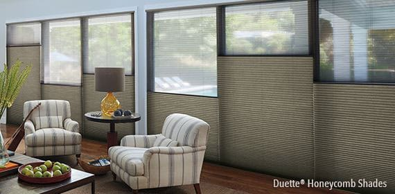 4 Duette® Honeycomb Shades PLUS $25 REBATE PER ADDITIONAL UNIT