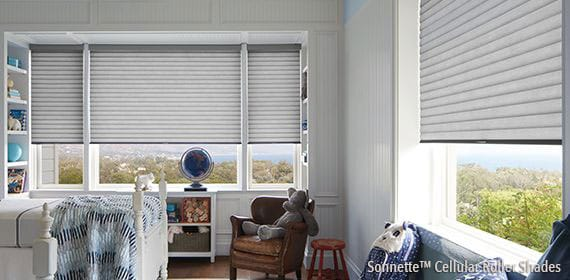 4 Sonnette™ Cellular Roller Shades PLUS $25 REBATE PER ADDITIONAL UNIT