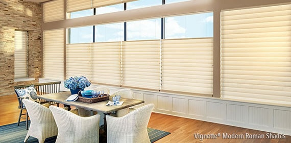 2 Vignette® Modern Roman Shades PLUS $50 REBATE PER ADDITIONAL UNIT